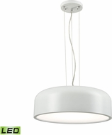 Alico LC2201-N-30 Kore Contemporary White LED Pendant Light
