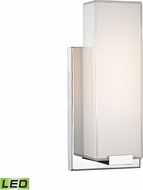 Alico WSL1601-PW-15 Midtown Modern Chrome LED Wall Light Fixture