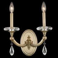 Allegri 012122-045-FR001 Floridia Matte Brushed Champagne Gold Wall Lamp
