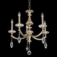 Allegri 012170-045-FR001 Floridia Matte Brushed Champagne Gold Mini Chandelier Light