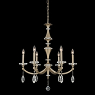 Allegri 012171-045-FR001 Floridia Matte Brushed Champagne Gold Chandelier Lighting