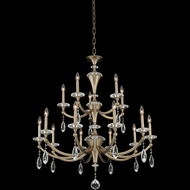Allegri 012173-045-FR001 Floridia Matte Brushed Champagne Gold Chandelier Lamp