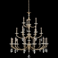 Allegri 012174-045-FR001 Floridia Matte Brushed Champagne Gold Chandelier Light
