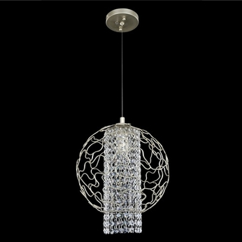 Allegri 020010-022-FR001 Mundo Chrome Firenze Clear 12  Lighting Pendant