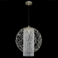Allegri 020011-022-FR001 Mundo Chrome Firenze Clear 18  Pendant Lamp