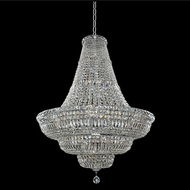 Allegri 020271-010-FR001 Betti Chrome Firenze Clear 36  Pendant Light Fixture