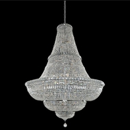 Allegri 020272-010-FR001 Betti Chrome Firenze Clear 48  Pendant Lighting Fixture