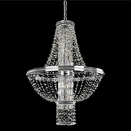 Allegri 020372-010-FR001 Capri Chrome Firenze Clear 31  Pendant Hanging Light