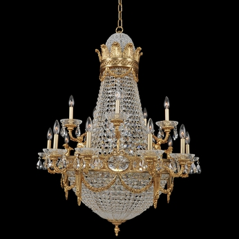 Allegri 020451 Marseille Antique Brass Chandelier Lighting