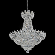 Allegri 020572-010-FR001 Belluno Chrome Firenze Clear 33  Drop Ceiling Lighting