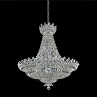 Allegri 020573-010-FR001 Belluno Chrome Firenze Clear 40  Ceiling Light Pendant