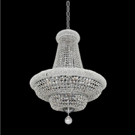 Allegri 020970-010-FR001 Napoli Polished Chrome Firenze Clear 18  Ceiling Pendant Light
