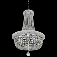Allegri 020971-010-FR001 Napoli Polished Chrome Firenze Clear 25  Drop Ceiling Light Fixture