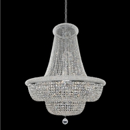 Allegri 020973-010-FR001 Napoli Polished Chrome Firenze Clear 42  Pendant Lighting