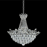 Allegri 021050-010-FR001 Treviso Chrome Firenze Clear 21  Pendant Lamp
