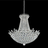 Allegri 021051-010-FR001 Treviso Chrome Firenze Clear 30  Hanging Lamp