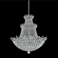 Allegri 021052-010-FR001 Treviso Chrome Firenze Clear 35  Hanging Light