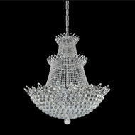 Allegri 021053-010-FR001 Treviso Chrome Firenze Clear 39  Pendant Light Fixture