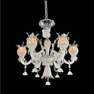 Allegri 027170-010-FR001 Artemisia Polished Chrome Firenze Clear 26  Chandelier Light