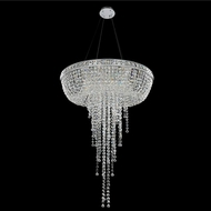 Allegri 027352-010-FR001 Cascata Chrome Firenze Clear 32  Drop Lighting