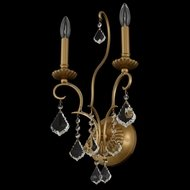 Allegri 027421-047-FR001 Elise Gold Patina Sconce Lighting