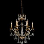 Allegri 027470-047-FR001 Elise Gold Patina Ceiling Chandelier