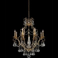 Allegri 027471-047-FR001 Elise Gold Patina Hanging Chandelier