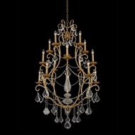 Allegri 027472-047-FR001 Elise Gold Patina Chandelier Light