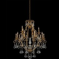 Allegri 027473-047-FR001 Elise Gold Patina Chandelier Lighting