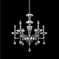 Allegri 027750-010-FR001 Cosimo Polished Chrome Firenze Clear 25  Chandelier Light
