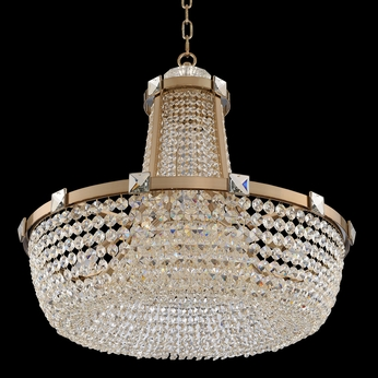 Allegri 027950-038-FR001 Impero Brushed Champagne Gold 30  Pendant Lighting