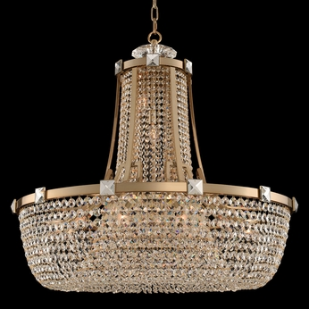 Allegri 027951-038-FR001 Impero Brushed Champagne Gold 36  Pendant Light