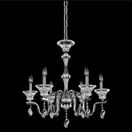 Allegri 028071-010-FR001 Lusso Chrome Firenze Clear Ceiling Chandelier