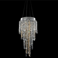 Allegri 028250-010-FR001 Tenuta Chrome Firenze Clear Halogen 14  Drop Ceiling Lighting