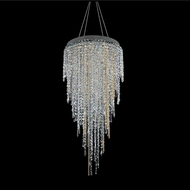 Allegri 028251-010-FR001 Tenuta Chrome Firenze Clear Halogen 24  Ceiling Light Pendant