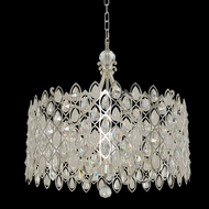 Allegri 028753 Prive Two Tone Silver 26  Drum Hanging Pendant Light