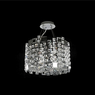 Allegri 028952-010-FR001 Dolo Chrome Firenze Clear 16  Pendant Light Fixture