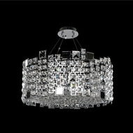 Allegri 028953-010-FR001 Dolo Chrome Firenze Clear 24  Pendant Lighting Fixture