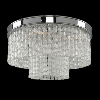 Allegri 029540 Savena Modern Chrome Flush Lighting