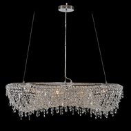 Allegri 029754 Voltare Chrome Drop Ceiling Light Fixture