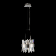 Allegri 030210-010 Glacier Chrome LED Mini Pendant Lighting