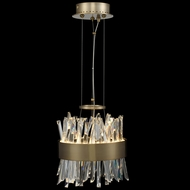Allegri 030210-038 Glacier Brushed Champagne Gold LED Pendant Lighting