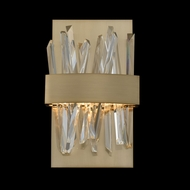 Allegri 030220-038 Glacier Brushed Champagne Gold LED Wall Sconce