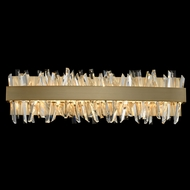 Allegri 030232-038 Glacier Brushed Champagne Gold LED 24  Bath Lighting