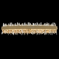Allegri 030233-038 Glacier Brushed Champagne Gold LED 32  Bathroom Light