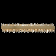 Allegri 030234-038 Glacier Brushed Champagne Gold LED 38  Bathroom Lighting Fixture