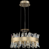 Allegri 030253-038 Glacier Brushed Champagne Gold LED 20  Pendant Light