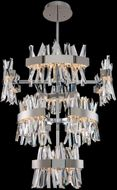 Allegri 030259-010 Glacier Polished Chrome LED Foyer Lighting Fixture