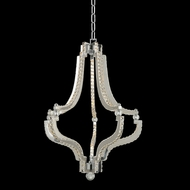 Allegri 030551 Cambria Chrome LED 21  Hanging Lamp