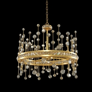 Allegri 030751 Fortuna Vienna Gold Leaf LED 26  Hanging Pendant Lighting